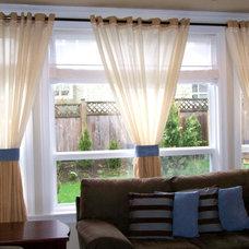 Curtains by La Casa Custom Draperies & Accessories