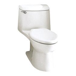 American Standard - Champion 4 Elongated One-Piece Toilet in White - American Standard 2004.014.020 Champion 4 Elongated One-Piece Toilet in White.
