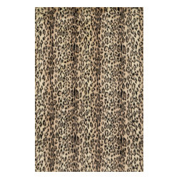 "Loloi Rugs - Danso Shags Rug DANSDA-02CX00 - 5'-0"" x 7'-6"" - Chic safari animal prints are reinterpreted into ultra soft faux fur rugs in the Danso Collection. Made in China of 100% poly-acrylic, Danso s rich solids or cheetah, zebra, and tiger patterns are available in trend right colors that set these rugs ahead of the pack."