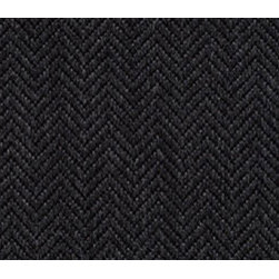 Alpaca Herringbone Graphite Fabric - This soft herringbone fabric is very durable and provides a luxurious look and feel for any modern furniture piece.