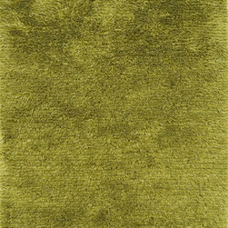 """Loloi - Indoor/Outdoor Garden Shag 9'3""""x13' Rectangle Lawn Area Rug - The Garden Shag area rug Collection offers an affordable assortment of Indoor/Outdoor stylings. Garden Shag features a blend of natural Lawn color. Handmade of 100% Polyester the Garden Shag Collection is an intriguing compliment to any decor."""