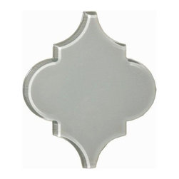 Arabesque - Glass - Foggy Meadow, Sample - Sold as one sample piece