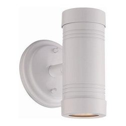 Acclaim Lighting - Acclaim Lighting 7692 Cylinders 2 Light Outdoor Wall Sconce - Features: