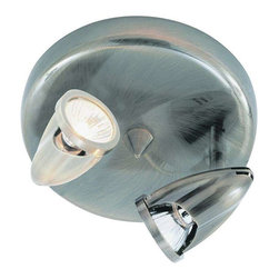Trans Globe Lighting - Trans Globe Lighting W-461 BN Track Light In Brushed Nickel - Part Number: W-461 BN