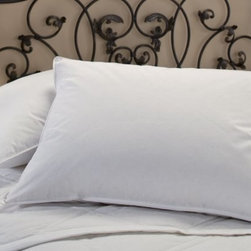 Down Alternative Hypoallergenic Pillow - This is a very popular bed pillow sold to several hotel chains and sought after by hotel guests for their homes.