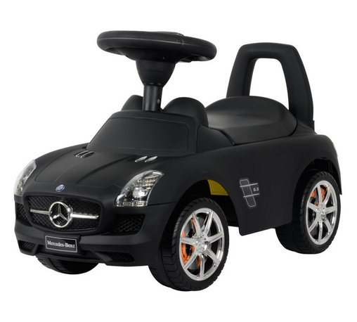 Best Ride On Cars - Best Ride On Cars Mercedes Benz Car Riding Push Toy - MERCEDES PUSH CAR BLACK PA - Shop for Tricycles and Riding Toys from Hayneedle.com! Your child will love riding around the neighborhood on the stylish Mercedes Benz Push Car. This fun push car features a steering wheel that plays horns and music which makes driving this car feel even more real. Available in your choice of color this push car is not only officially licensed by Mercedes Benz and features their logo on the front but also allows your child to get plenty of exercise while having fun. About Best Ride On CarsRealizing that an active childhood leads to a long healthy life Best Ride On Cars was formed with the admirable goal of helping kids enjoy every moment of their childhood through safe and active play. Producing a huge selection of high-quality toys for all age groups Best Ride On Cars helps bring families together through interactivity. Specializing in battery operated cars jeeps motorcycles and ATVs Best Ride On Cars has also grown to develop electric scooters bounce houses and even weight scales.