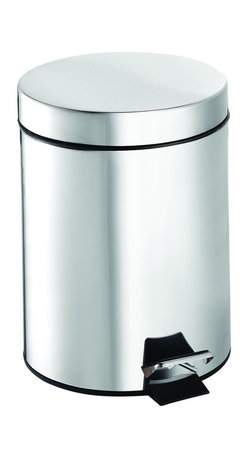 Croydex - Croydex QA107305 5 Litre Pedal Bin in Chrome - Croydex QA107305 5 Litre Pedal Bin in ChromeA comprehensive range of bathroom accessories that is ideal for commercial applications such as hotels and housing developments. The stylish design compliments any bathroom setting and the range covers everything from towel racks and toilet roll holders to bottle openers and washing lines for over the bath!Croydex QA107305 5 Litre Pedal Bin in Chrome, Features:• Stainless steel pedal bin with high quality polished finish.Manufacturer: CroydexModel Number: QA107305YWManufacturer Part Number: QA107305YWCollection: Finish Code: Finish: ChromeUPC: 816705010714This product is also listed under the following Manufacturer Numbers and Finish Codes:Croydex QA107305QA107305YWQA107305Product Category: Professional Bath AccessoriesProduct Type: Trash bin