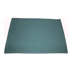"""Grey House Linens - The Kate Collection Solid Placemats - Placemats measure 14"""" x 20""""."""