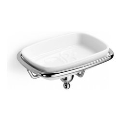 WS Bath Collections - WS Bath Collections Venessia Soap Dish - Features: