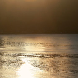 Tim Burns Photography - Summertime Bronze Sunrise - Fine Art Digital Photograph Signed- Limited Edition, - Summertime Bronze Sunrise - A warm coastal sunrise over the Pacific Ocean.
