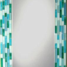 Contemporary Bathroom Mirrors by Opus Mosaics