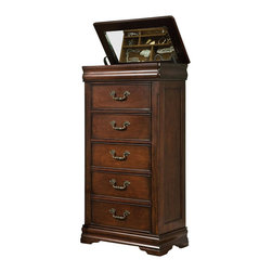 Standard Furniture - Standard Furniture Westchester Lingerie Chest in Cherry - Standard Furniture - Chests - 82665 - About The Westchester Collection: