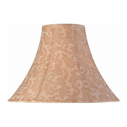 Lite Source - 7 in. Jacquard Bell Shade - Shade top: 7 in. L x 7 in. W. Shade bottom: 18 in. L x 18 in. W. Shade height: 12 in.. Weight: 2.1 lbs.