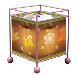 Natural Design House - Magic Lamp, Butterfly Design - Children are fascinated by these lamps! Wonderful magic lamp, rotates gently when switched on using the heat from the bulb and projects a soothing image onto the ceiling and walls.