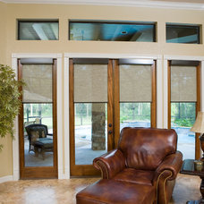Modern Roller Shades by Blinds Chalet