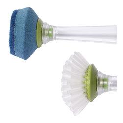 Chef'n Sudster Bottle Brush & Scrubber Replacement Head - Replacement head set for Chef'n Sudster bottle brush & scrubberProduct Features                      Includes 1 replacement head set