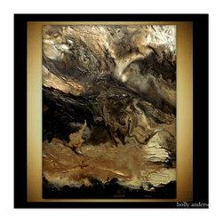 Wall Art Abstract art, Contemporary art, Original abstract painting TERRENE - Original Painting.