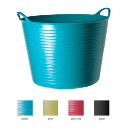 TUBTRUGS Recycled Range - In a family house, you can never have enough storage, and these bins make it easy for mom, dad and kids. Heck, even I could use one!