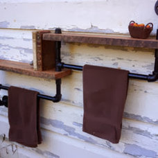Rustic Wall Shelves by AES Mobile Studios