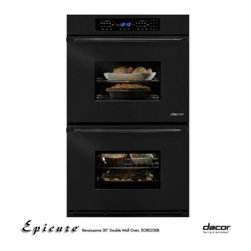 "Dacor - EORS230B Classic 30"" Double Electric Wall Oven with 3.9 cu. ft. Pure Convection - The First Family of Kitchen Appliances Cooking is an important part of family tradition at Dacor In 1933 Stan Joseph opened a small appliance store in Northern California Supported by his devoted wife Florence his innovative thinking led to the inven..."