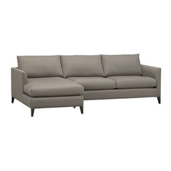 Klyne 2-Piece Sectional (Left Arm Chaise, Right Arm Apartment Sofa) in Sectional -