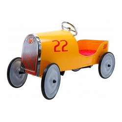 Beanpatch & Co. - Baghera Goldini Pedal Car - Children will look on in envy when your kid goes whizzing down the street in this beauty. And wait until their dads get a look. Who will be more jealous?