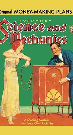 Buyenlarge.com, Inc. - Everyday Science and Mechanics: A Shocking Machine from Your Own Radio Set - Radio, TV. Wireless, Telegraph, Television