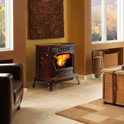 Harman XXV Pellet Stove - The XXV Pellet Stove offers exquisite cast-iron detailing in a high-performance pellet stove. It is loaded with premium technology and designed to highlight the many years of Harman excellence.