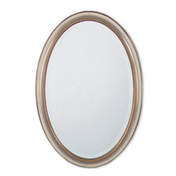 "08647-b Petite Manhattan Oval, Sil/Gl,U by Uttermost - Get 10% discount on your first order. Coupon code: ""houzz"". Order today."