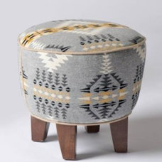 Eclectic Footstools And Ottomans by Pendleton
