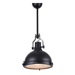 "Bromi Design Essex 1-Light 16"" Pendant"