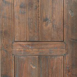 Doors & Windows - Wood - Interior Door with Antique Hand Rubbed Finish & Distress