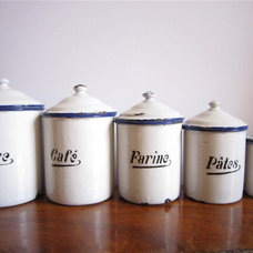 Traditional Kitchen Canisters And Jars by Etsy