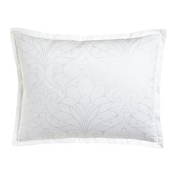 Charisma - Standard Floral Sham - CharismaStandard Floral ShamDesigner About Charisma:Charisma linens are known for an understated elegance with attention to detail and quality workmanship. The Charisma collection includes fine bedding and towels crafted from luxurious fabrics such as Egyptian cotton and Supima cotton for a truly soft touch that endures.
