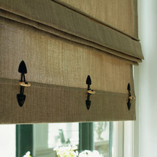 Contemporary Roman Shades by House Couturier Limited