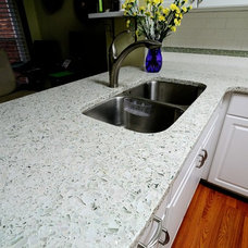 Contemporary Kitchen Countertops by CR Home Design K&B (Construction Resources)