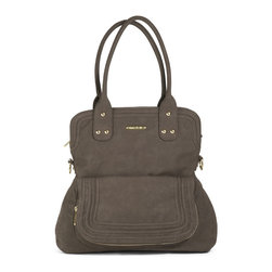 Timi & Leslie - Hayley Diaper Bag - Mushroom Brown - Hayley Diaper Bag - Mushroom Brown