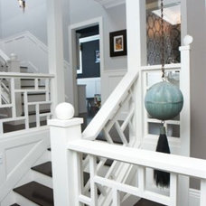 Eclectic Staircase by Intimate Living Interiors