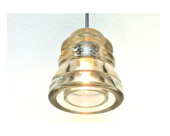 Insulator light 12V 50W halogen pendant - UL Rated - New 12V Halogen pendant by Railroadware. UL Rated