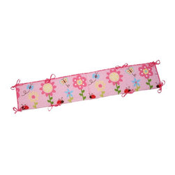 Little Bedding by NoJo - Little Bedding by NoJo Miss Lady Bug Traditional Padded Bumper - 6667002 - Shop for Crib Bumper Pads from Hayneedle.com! Keep your infant snug as a bug inside the comfort of the Little Bedding by NoJo Miss Lady Bug Traditional Padded Bumper. This colorful four-piece bumper with two long sides and two short sides is decorated with cute-as-a-button ladybugs flowers and butterflies and fits most standard cribs.About NoJoOffering fashionable safe and reliable products throughout the United States for the past 40 years NoJo's goal is to offer fashion-forward infant and toddler bedding blankets and accessories that meet the demands of today's modern lifestyle. NoJo puts not only style into their products but comfort and safety too.
