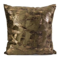 IMAX CORPORATION - Hatton Square Pillow - Complete your look with the Hatton square pillow and add a brilliant touch of glam to your room. Find home furnishings, decor, and accessories from Posh Urban Furnishings. Beautiful, stylish furniture and decor that will brighten your home instantly. Shop modern, traditional, vintage, and world designs.