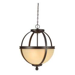 Sea Gull Lighting - Uplight Pendant - Sea Gull Lighting 6690403-715  in Autumn Bronze