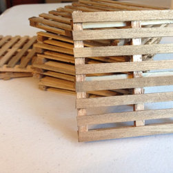 Pallet Coasters - Snell Construction