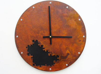 Eclectic Kids Clocks by Etsy