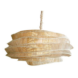 Bamboo Cloud Low Cumulus Chandelier by Roost -