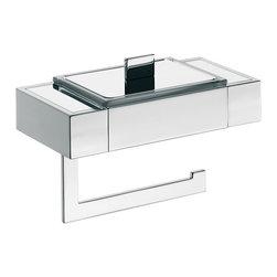"""WS Bath Collections - Liaison 1700.001.01 Toilet Paper Holder - Liaison 1700.001.01, 7.9"""" x 4.0"""" x 5.2"""", Toilet Paper Holder in Polished Chrome"""