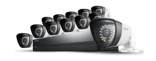 Samsung - Samsung SDS-P3042 4 Channel DVR Security System, 16 Channel - Features:
