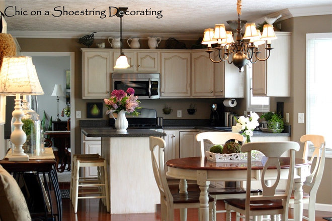 Traditional Kitchen by Chic on a Shoestring Decorating