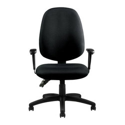 Offices To Go - Offices to Go Multifunction Chair with Arms in Black - Offices to Go - Office Chairs - OTG11613B - Offices to Go is proud to offer exceptional comfort and style while maintaining a value conscious approach to seating.