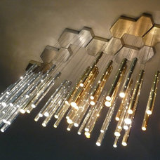 modern chandeliers by ilanel. light life.